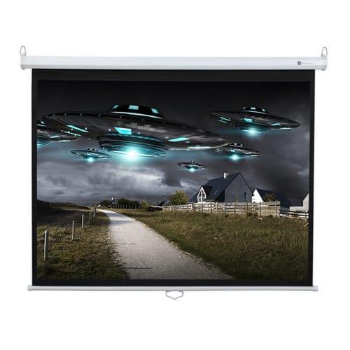"Homegear 60"" HDTV 4:3 Manual Projector Screen"