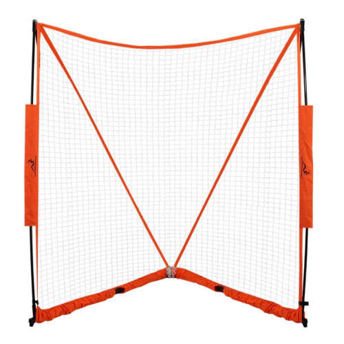 Woodworm Portable Lacrosse Goal Net 6ft - Super Easy Assembly in 60 Seconds