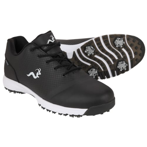 Woodworm Tour V3 Mens Waterproof Golf Shoes - Black