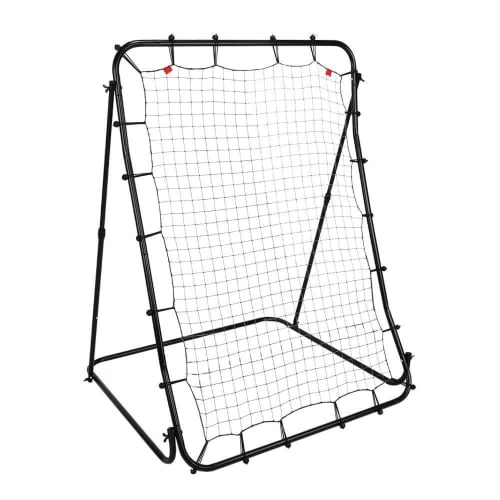 "Woodworm Sports 60"" x 40"" Rebounder Training Rebound Net - Baseball Practice Throwing. Catching, Pitching"