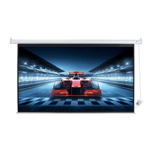 "Homegear 100"" HD Motorized 16:9 Projector Screen"