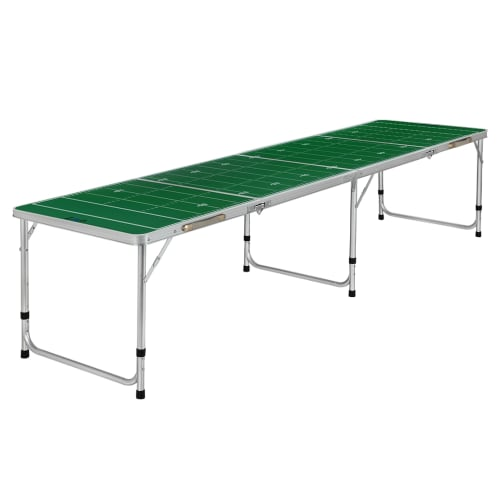 Zaap 8ft Tournament Size Folding Beer Pong Table - Football Field