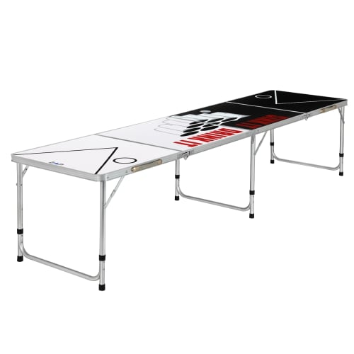 Zaap 8ft Tournament Size Folding Beer Pong Table - Sink & Drink