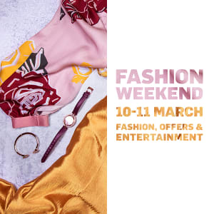 Fashion Weekend - Save the date