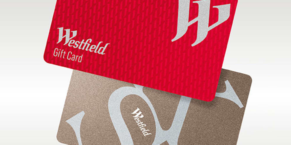 Westfield Gift Cards at Westfield Chatswood