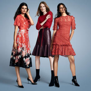 Red, Autumn's hottest trend, at Myer