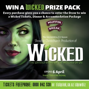 Win* a Wicked Prize Pack with Muffin Break!
