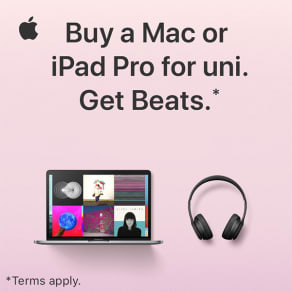 Get Beats headphones when you buy an eligible Mac or iPad for uni