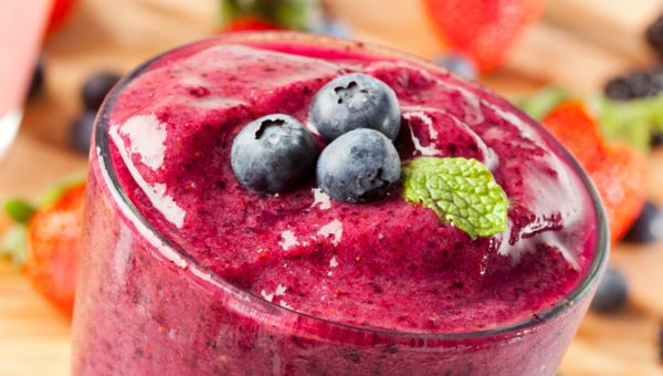 Blueberry-Almond Smoothie
