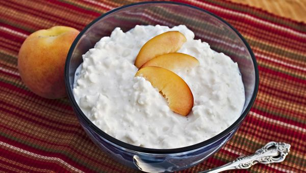 Creamy cottage cheese