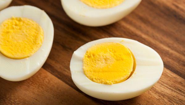 Snack #5: A Hard-Boiled Egg