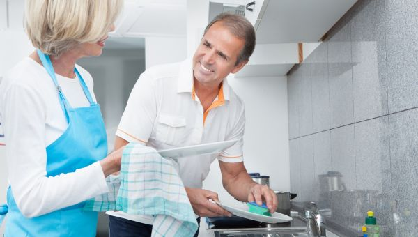 2. Do the Dishes -- Together