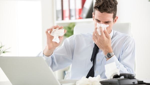 """""""My nose isn't running clear, so I must have an infection."""""""