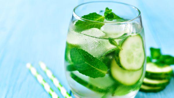Cucumbers - 96.7 % Water