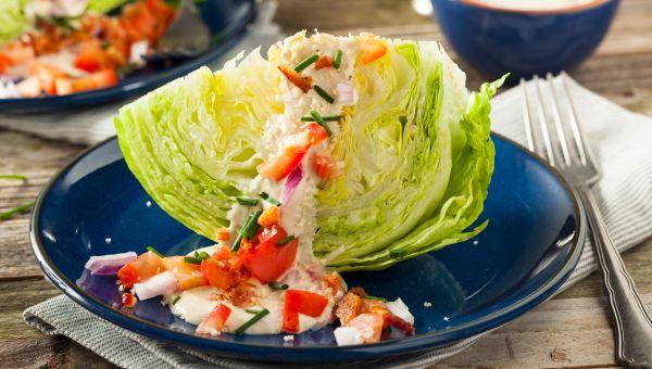 Iceberg Lettuce - 95.6 % Water