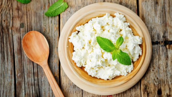 Cottage Cheese and Tomato