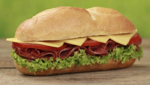 Worst Junk Food #3: Submarine Sandwich