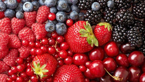 1. Mixed berries