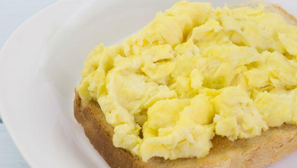 20. Egg whites and toast