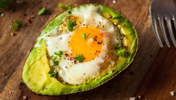 83. Avocado egg bake