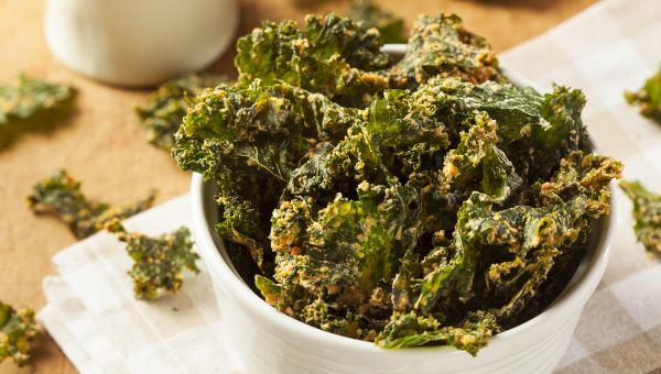 94. Kale chips
