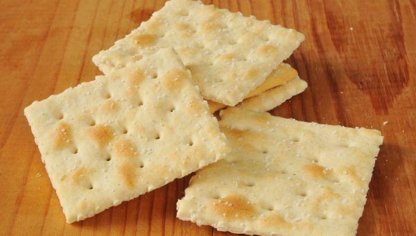 100. Saltine crackers
