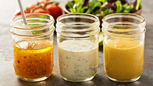 Make your salad dressing more efficient