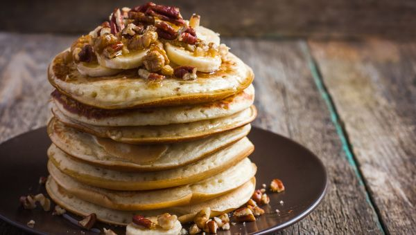 Sample breakfast: Gingerbread Pancakes