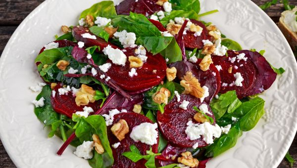 Roasted Beet and Arugula