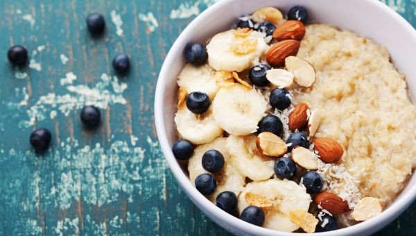 Dig into a bowl of oats and berries