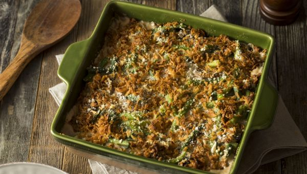 Lighten Up Green Bean Casserole