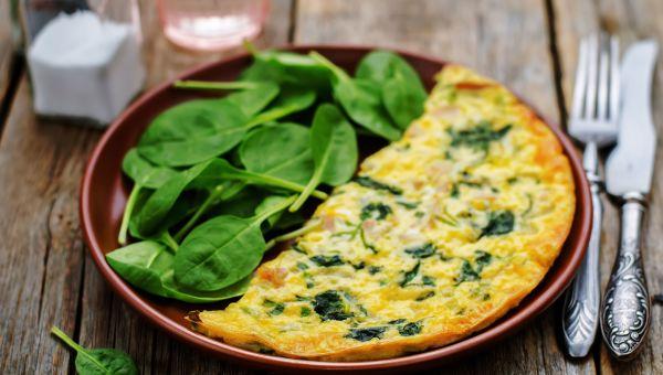 Breakfast: omelets