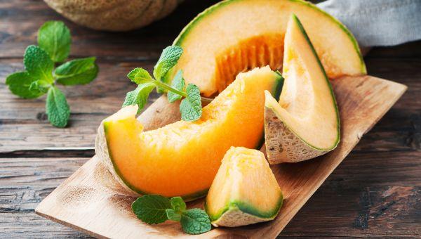 Cantaloupe - 90.2 percent water