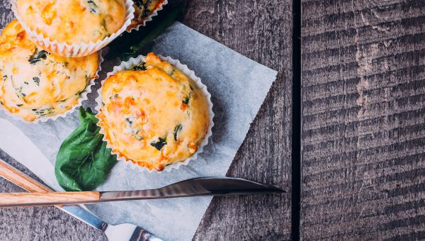 Mini Crustless Veggie Quiche