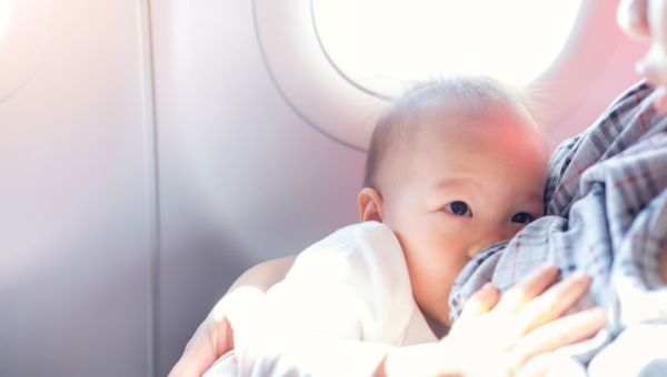 Breastfeeding and traveling takes a lot of planning