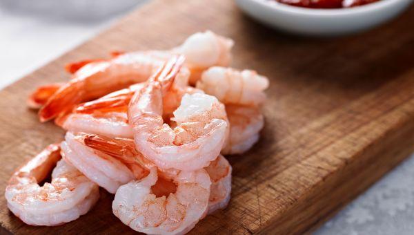 Shrimp cocktail (with sauce) vs. deviled eggs