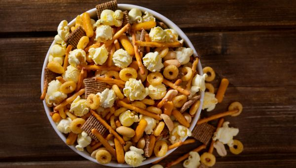 Homemade party mix