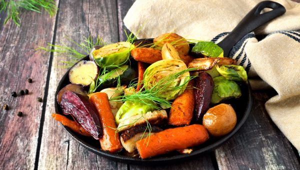 Load up on root veggies