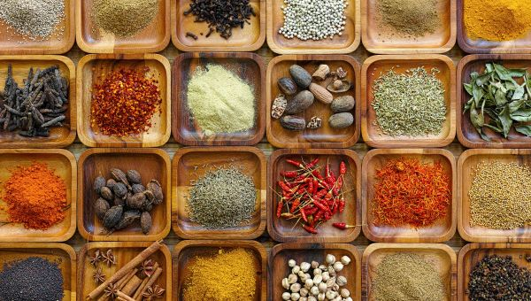 Experiment with new spices