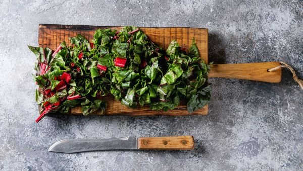 Try Swiss chard