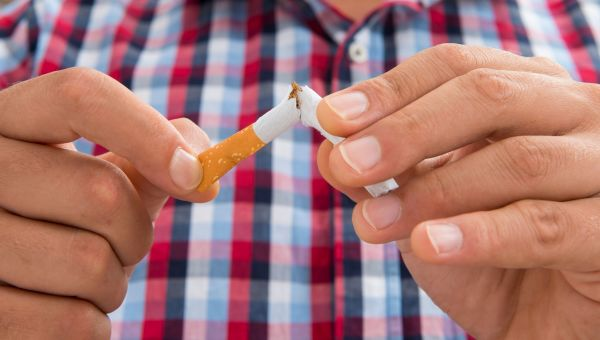 The first step: quit smoking