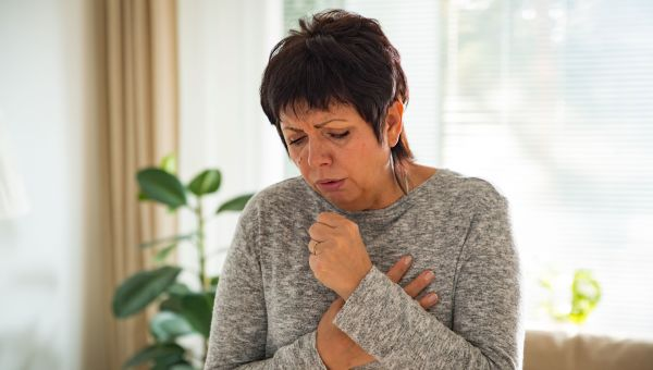 Persistent cough or hoarseness