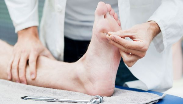 Have your doctor examine your feet