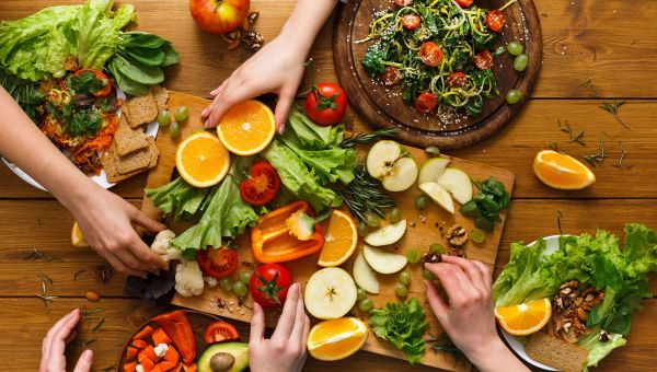 Skip the junk and fill up on healthy foods