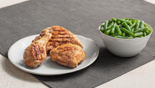 Kentucky Fried Chicken:Grilled Chicken with Veggies