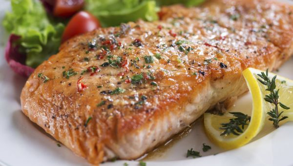 Norwegian style oven roasted salmon recipe sharecare norwegian style oven roasted salmon recipe forumfinder Choice Image
