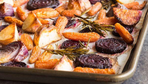 Anti-Inflammatory Recipe: Roasted Sliced Beets