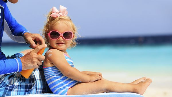 Sunscreen Dangers for Kids