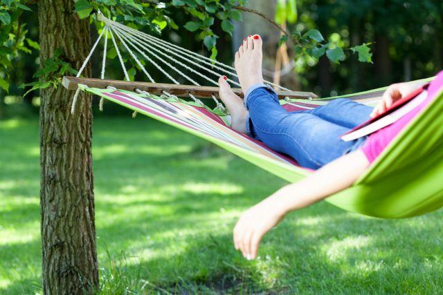 The Yard Item That Offers Sleep Help