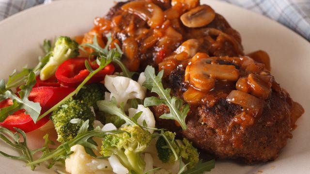 Sirloin Steaks with Mushroom Sauce